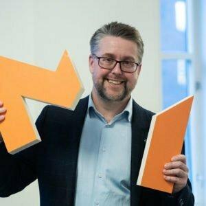 Bilde av styreformann Sverre Torjuul